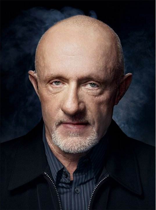 "Jonathan Banks stars as Mike in ""Breaking Bad."""
