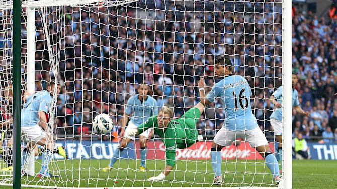 Soccer - FA Cup - Final - Manchester City v Wigan Athletic - Wembley Stadium