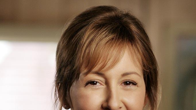 Cynthia Stevenson stars as Celia Bachelor in Men in Trees.