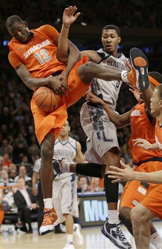 Syracuse edges Georgetown in OT to reach BE final
