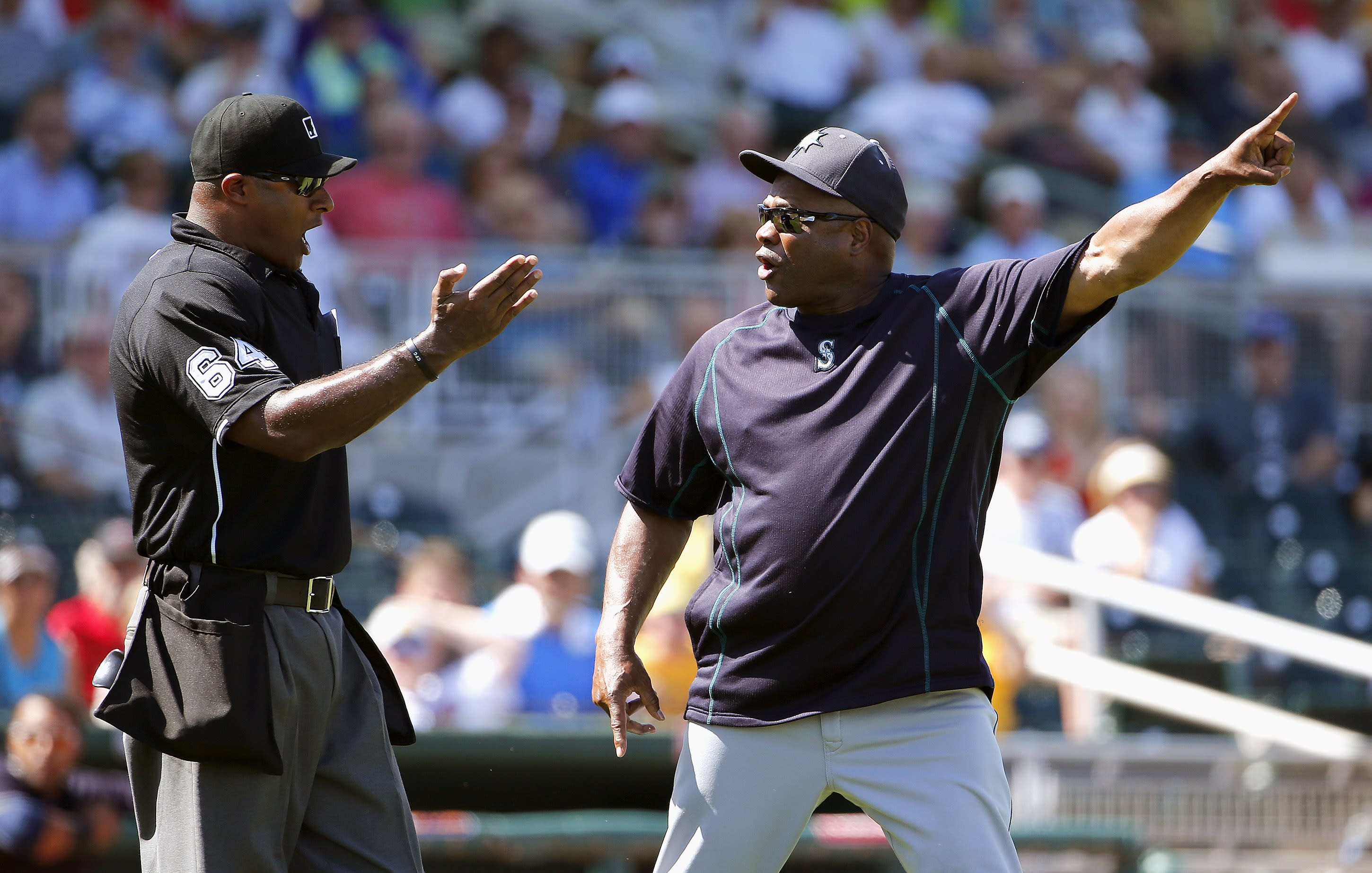 Lloyd McClendon gets ejected, goes on great on-field rant (Video)
