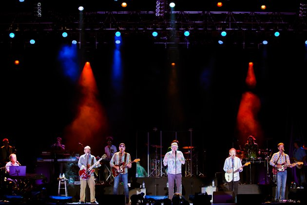 The Beach Boys marked their comeback in more than two decades with their 50th Anniversary Tour. (Photo courtesy of Lushington)