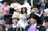 It may have been the last day of Royal Ascot but sartorial standards certainly hadn't slipped anywhere in the Royal Enclosure. After watching catwalk shows
