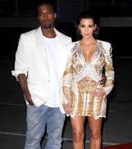 Kanye West est trs amoureux de Kim Kardashian