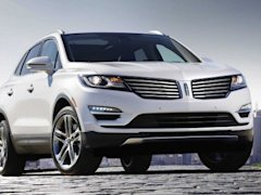 2015 LINCOLN MKC SUV split wing grille