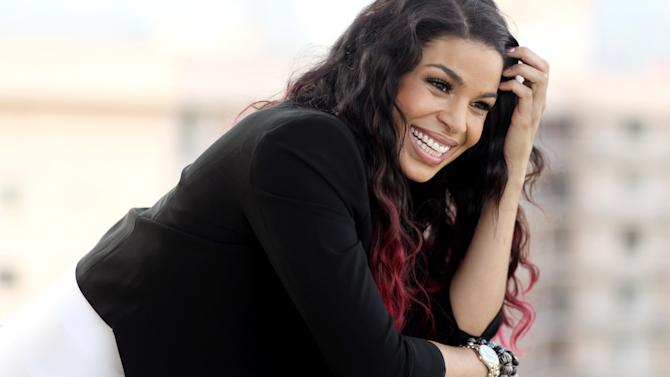"In this Friday, Aug. 3, 2012 photo, actress Jordin Sparks from the upcoming film ""Sparkle,"" poses for a portrait in Beverly Hills, Calif. Sparks became the title character in the remake of the 1976 musical when her music career was in flux and she looked to her passion for acting. The film will be released in theaters Aug. 17. (Photo by Matt Sayles/Invision/AP)"