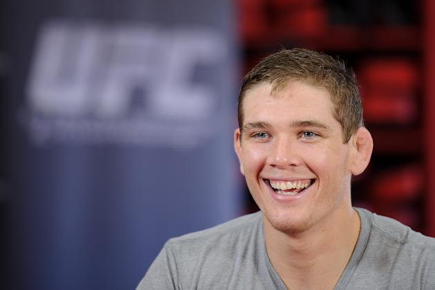 UFC On Fox: Jordan Mein Open Workout