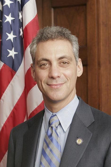 Rahm Emanuel Official Portrait