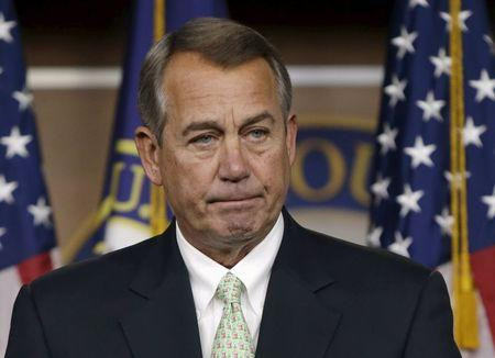 Boehner says would welcome deal to ease U.S. spending caps