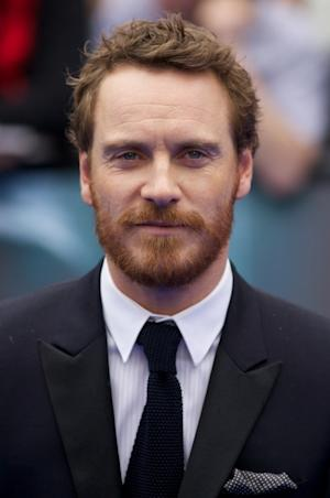 Michael Fassbender arrives on the red carpet to attend the world premiere of the film 'Prometheus' in London on May 31, 2012 -- Getty Premium
