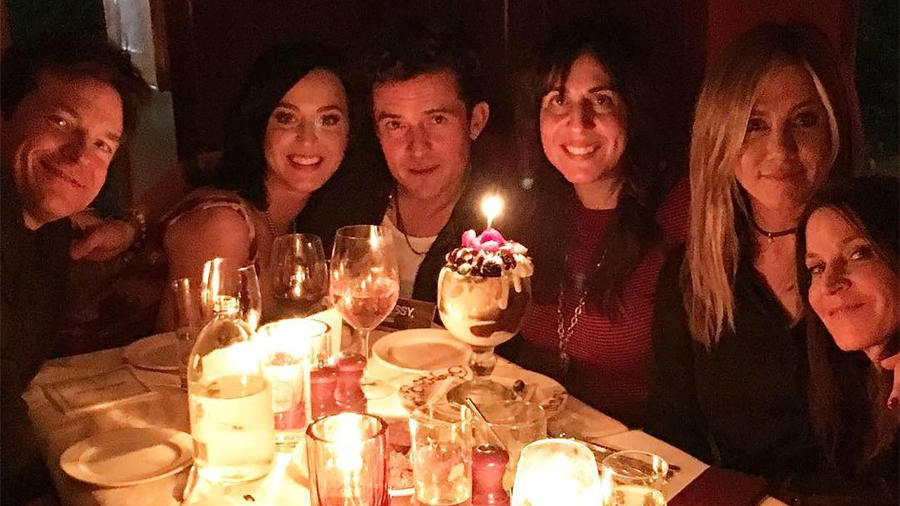 Katy Perry and Orlando Bloom Get Close at Friend's Birthday Dinner
