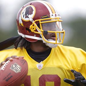 Washington Redskins quarterback Robert Griffin III: 'I'll be there for Kirk Cousins every step of the way'