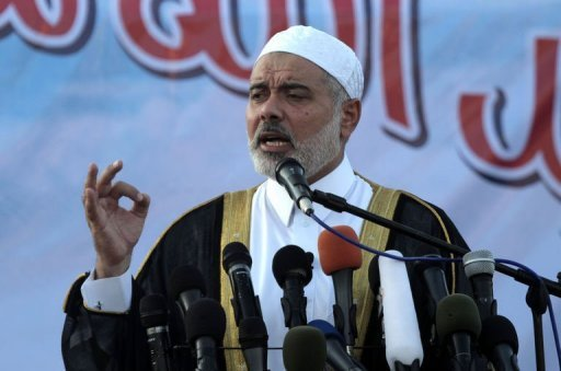 Ismail Haniya, the head of the Hamas government in the Gaza Strip