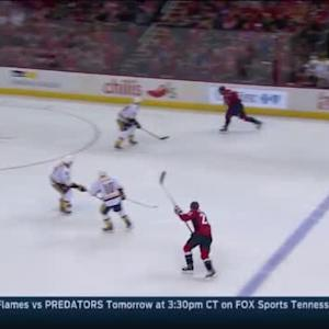 Pekka Rinne Save on Alex Ovechkin (01:59/3rd)