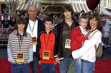 Premiere: Corbin Bernsen and Amanda Pays with family at the LA premiere of Walt Disney's Pirates Of The Caribbean: The Curse of the Black Pearl - 6/28/2003 