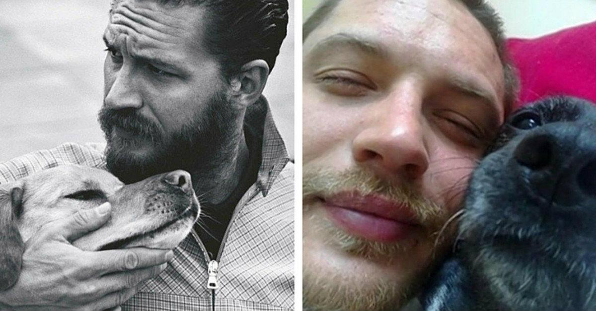 26 Times Tom Hardy Was The Ultimate Dog Lover