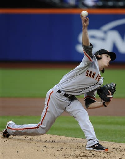 Bumgarner, Giants beat Mets for doubleheader sweep