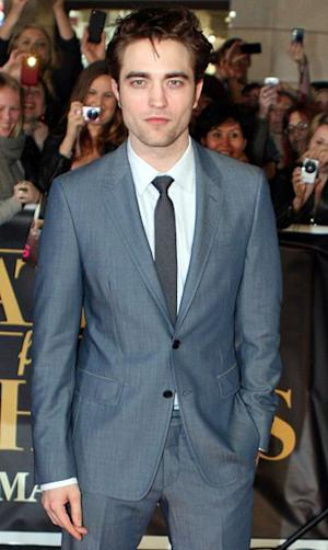 British actor Robert Pattinson at the premiere of Water for Elephants in 2011.
