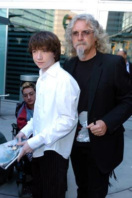 Liam Aiken and Billy Connolly at the Hollywood premiere of Paramount Pictures' Lemony Snicket's A Series of Unfortunate Events