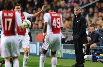 Mancini labels Ajax clash 'last chance' for Manchester City