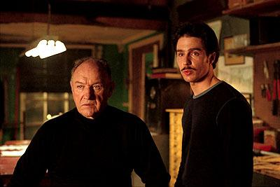 Gene Hackman and Sam Rockwell in Warner Brothers' Heist