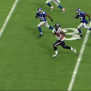 Houston Texans running back Alfred Blue 46-yard run