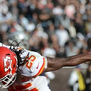 He's a Beast: Kansas City Chiefs running back Jamaal Charles