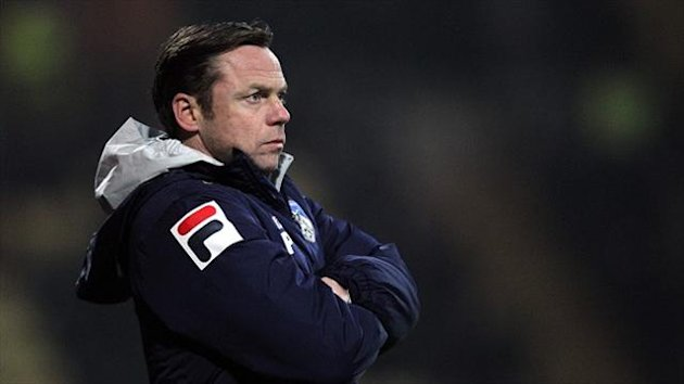 Paul Dickov left Oldham in February