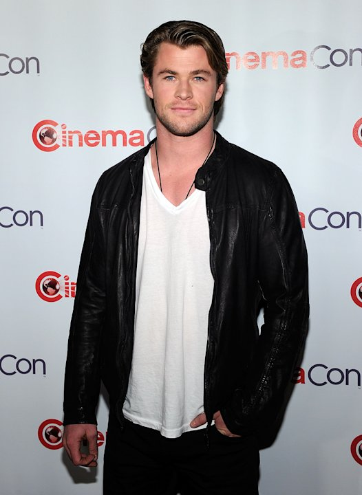 2011 CinemaCon Las Vegas Chris Hemsworth