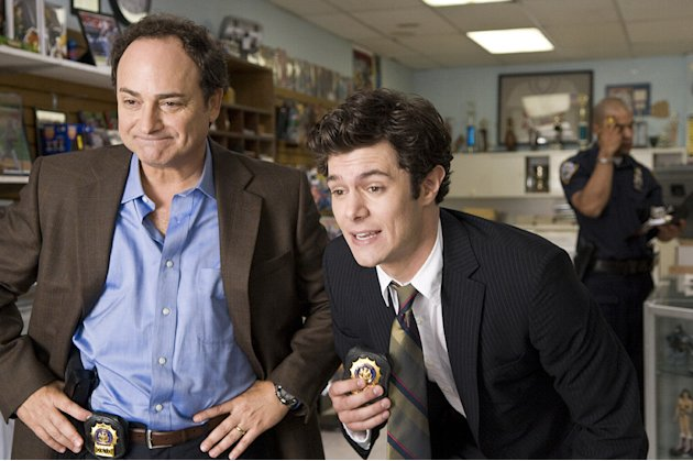Cop Out Warner Bros Pictures 2010 Production Photos Adam Brody Kevin Pollak