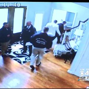 Video Of 2013 Search Of Aaron Hernandez's Home Shown In Court