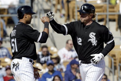 Greinke goes 2 innings, Dodgers tie White Sox 2-2