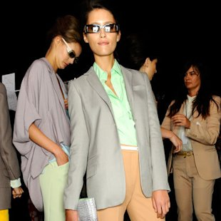 DVF SS12 Backstage: Summer Tomboy Fashion Trend