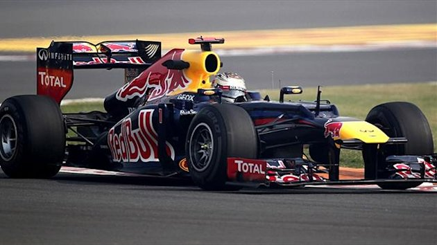 Red Bull's Sebastian Vettel at the Indian Grand Prix (Reuters)