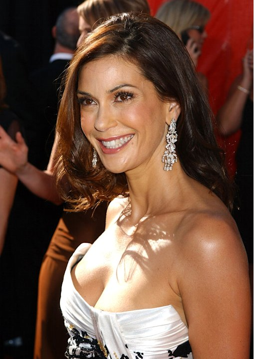 Teri Hatcher at The 56th Annual Primetime Emmy Awards.