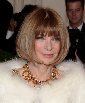 Anna Wintour Gets Fashionably …