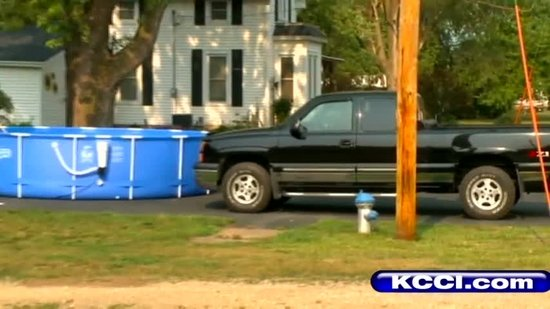 City under boil order after man fills pool