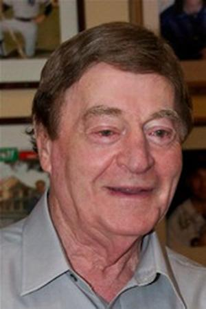 In this undated obituary photo provided by the Sun Journal, Frank Julian smiles in a photo. Julian was the former boyfriend of Kitty Wardwell, who went missing at age 29 in 1983. State authorities are planning an autopsy on human remains found in a Lewiston, Maine, storage facility last week that may be those of Wardwell. (AP Photo/Obit photo via Sun Journal)