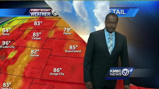 Storms could pop up late Wednesday afternoon