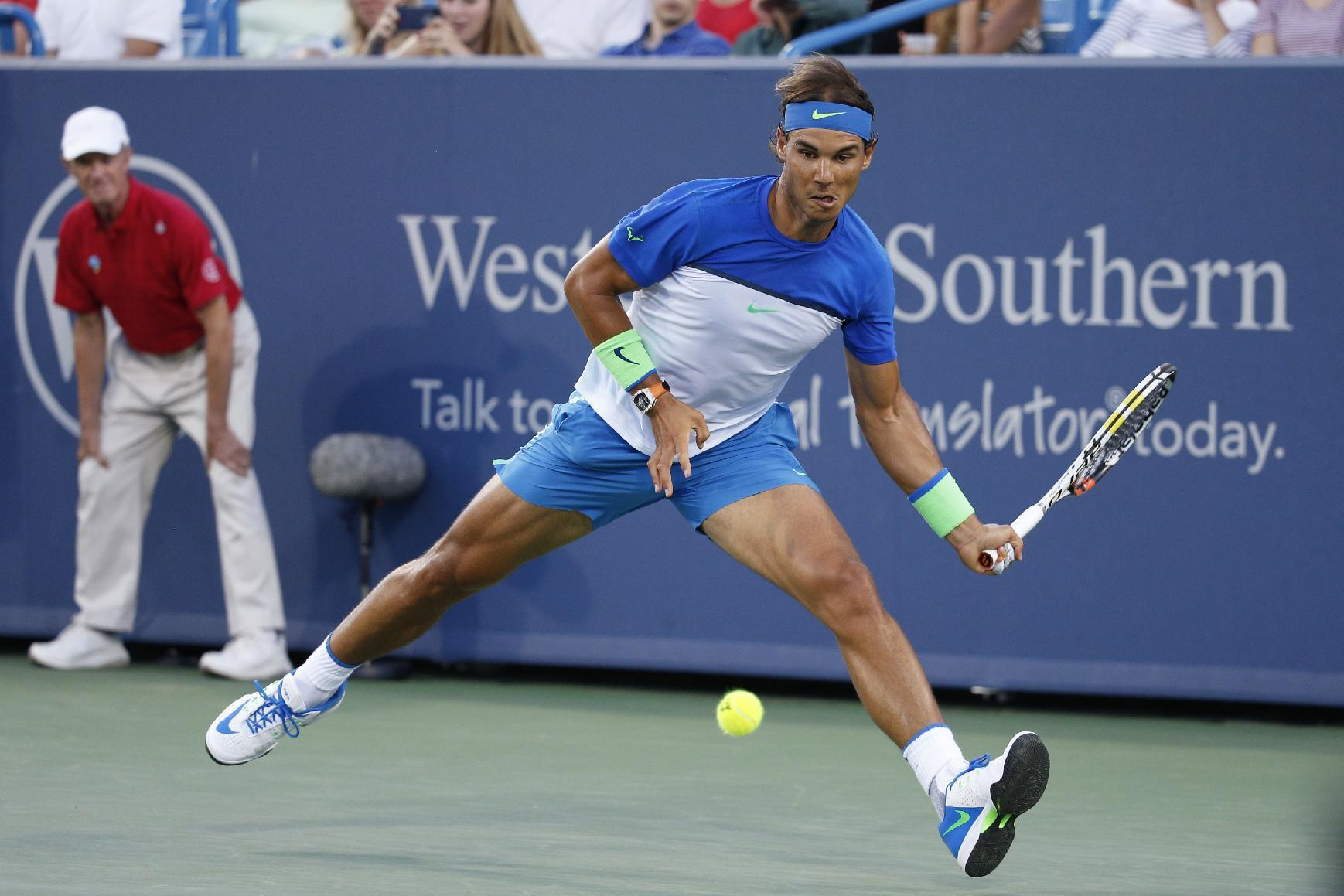 Nadal vows passionate return to U.S. Open