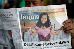 A newspaper that ran a wrong headline saying Filipina …