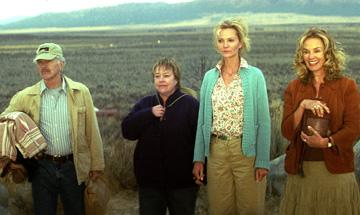Tom Skerritt , Kathy Bates , Joan Allen and Jessica Lange in SenArt Films' Bonneville