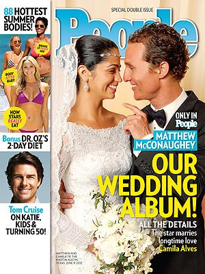 3. Matthew McConaughey and Camila Alves