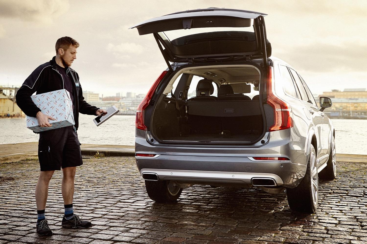 Volvo's in-car delivery service brings a whole new meaning to 'living in your car'
