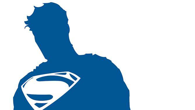 """This illustration released by DC Entertainment shows a logo commemorating the 75th anniversary of Superman. Its first appearance will be on the cover of """"Superman Unchained"""" by DC co-publisher Jim Lee and writer Scott Snyder on June 12, along with a new animated short being produced by Zack Snyder, which will debut at San Diego Comic-Con in July. Warner Bros. CEO Kevin Tsujihara said Thursday, May 30, 2013, the new logo is part of a year-long celebration of what he called the """"first super hero."""" (AP Photo/DC Entertainment)"""