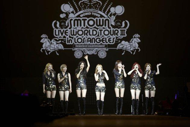 SM Town Live World Tour III di Los Angeles