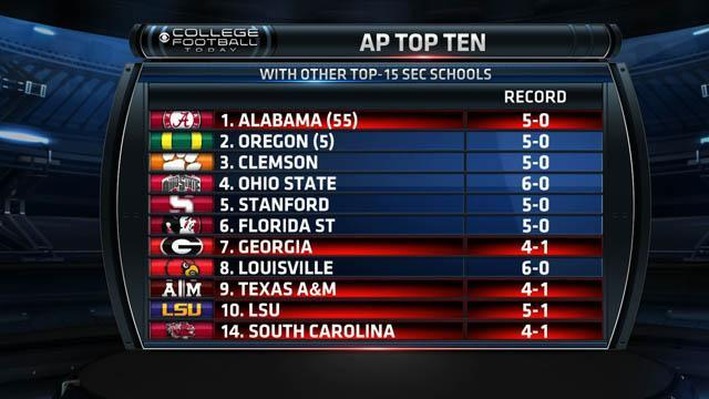 Will a 1-loss SEC team be in the BCS Championship?