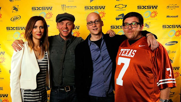2011 SXSW Music and Film Festival Kristen Wiig Simon Pegg Greg Mottola Nick Frost