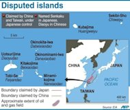 &lt;p&gt;Graphic showing disputed islands claimed by China and controlled by Japan&lt;/p&gt;