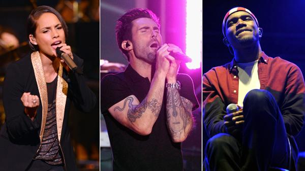 Alicia Keys, Maroon 5 and Frank Ocean Added to Grammys Lineup